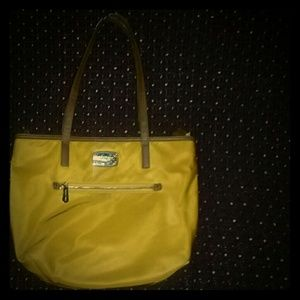 Michael Kors yellow handbag